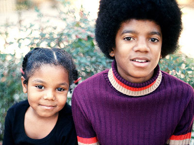 Michael And Janet As Kids