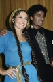 Michael And Nicolette Larson At The 1980 American Music Awards - michael-jackson photo