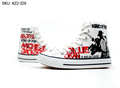 Michael Jackson custom converse - michael-jackson photo