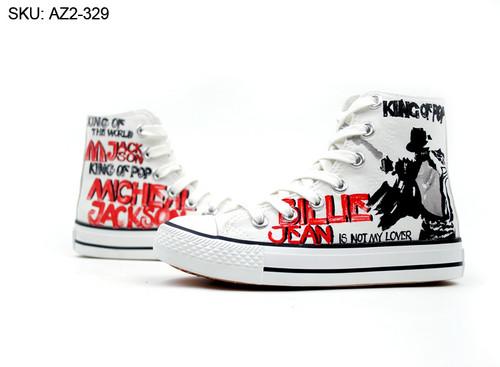 Michael Jackson custom Converse