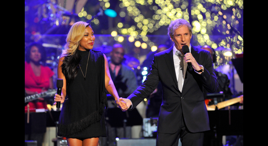 michael bolton fans images michael melanie fiona a hollywood christmas celebration hd wallpaper and background photos - Michael Bolton Christmas
