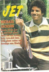 "Michael On The Cover Of ""JET"" Magazine"