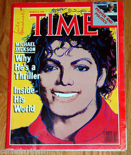 "Michael On The Cover Of The 1984 Issue Of ""TIME"" Magazine"