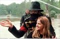 Michael Talking With A Fan - michael-jackson photo
