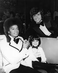 "Michael With Good Friends, Donny And Jimmy Osmond Somewhere In the ""'70's"""