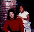 Michael With One Of His Nieces - michael-jackson photo