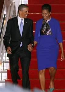 Michelle and Barrack