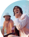 Mike Love & George Harrison