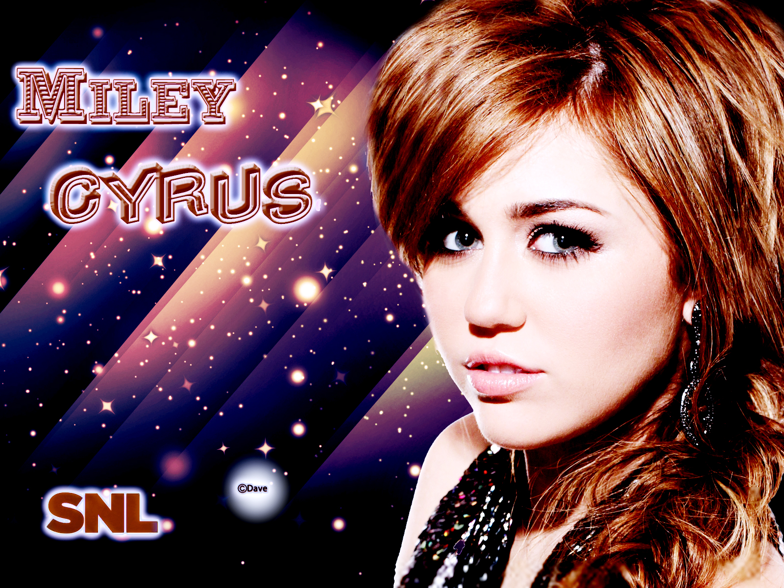Miley Exclusive Wallpapers By Dave Miley Cyrus