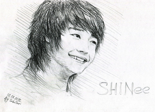 Choi Minho wallpaper containing a portrait called MinHo by SakuTori