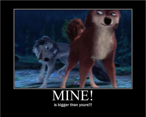 Mine!