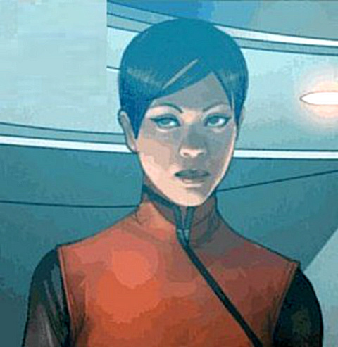 Mirror Uhura তারকা Trek Ongoing #15