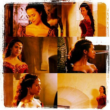 Ms Angel Coulby collage of life