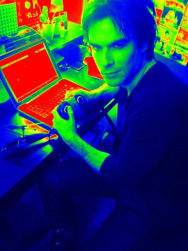 Multi- tasking Ian.