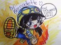 My Fan Art of Boboi Boy Ying Super Kick - boboiboy fan art