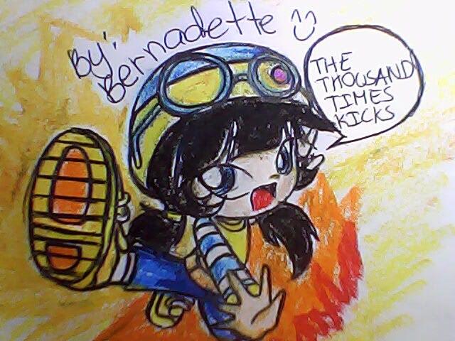 My fan Art of Boboi Boy Ying Super Kick