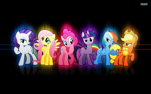 My Little Pony Friendship is Magic wallpaper called My Little Pony Wallpaper