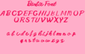 My New búp bê barbie Font