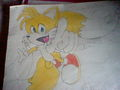 My Tails drawing - tails fan art