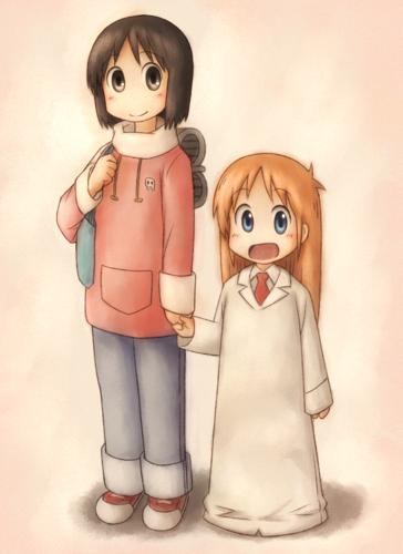 Nano and Hakase!~