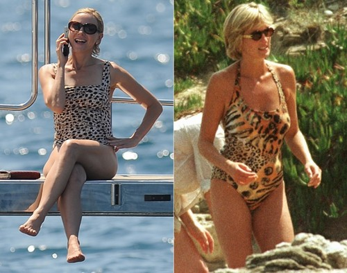 Princess Diana wallpaper probably with a maillot, a swimsuit, and a leotard called Naomi Watts as Princess Diana