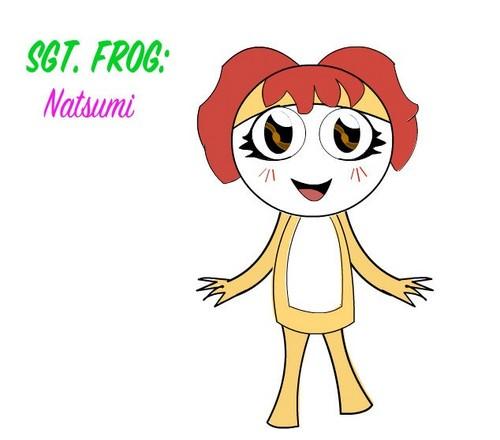 Natsumi as a Keroian!!