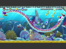 Super Mario Bros. wallpaper called New super mario bros u gameplay