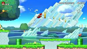 New super mario bros u gameplay