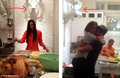 Nian Spending Thanksgiving Day Together - ian-somerhalder-and-nina-dobrev fan art