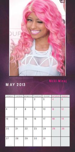 Nicki Minaj Exclusive Unofficial 2013 Calendar