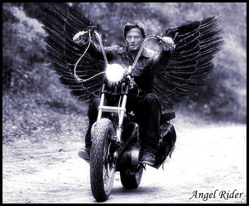 Norman Reedus Wallpaper Possibly Containing A Motorcyclist And Trail Bike Entitled