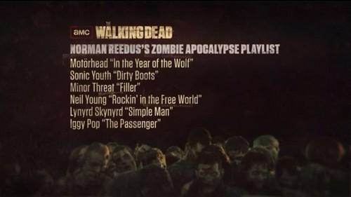 Norman Reedus's Walking Dead Playlist