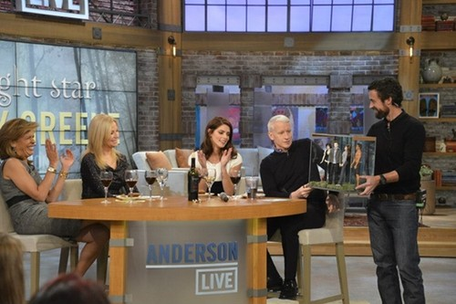 November 20 - On 'Anderson Live' Show, New York