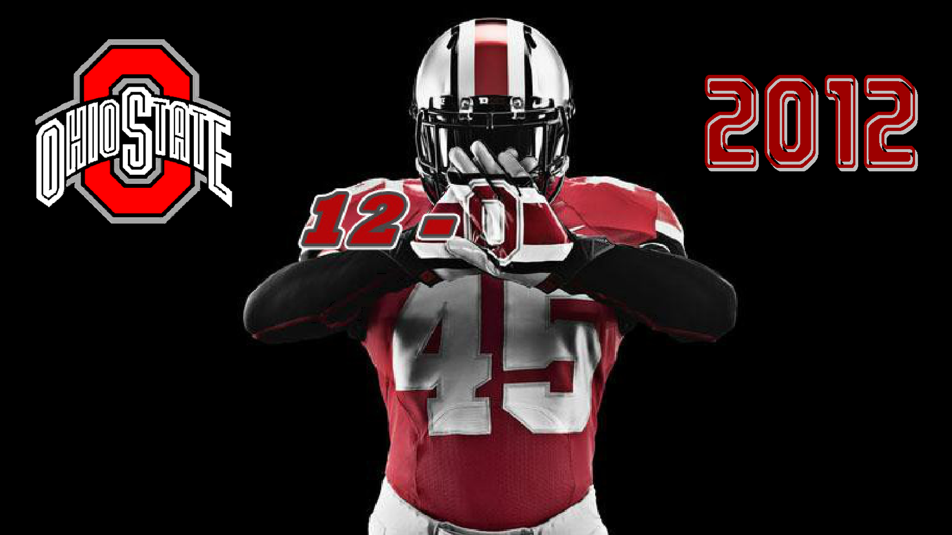 OHIO STATE 12-0 2012 - Ohio State Football Wallpaper (32854436 ...