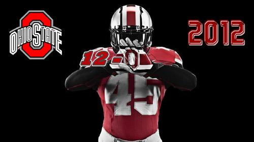OHIO STATE 12-0 2012