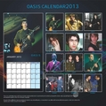 Oasis Exclusive Unofficial 2013 Calendar