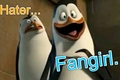 Of Haters and Fangirls - penguins-of-madagascar fan art