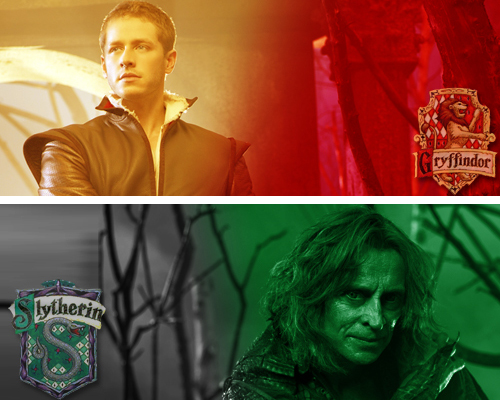 Once Upon A Time - Hogwarts Houses