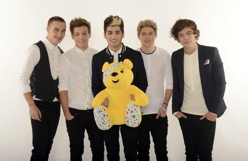One Direction Children in needs portraits HQ.