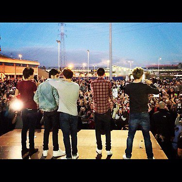 One Direction Instagram foto's