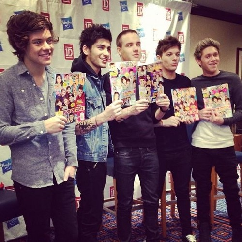 One Direction in NYC