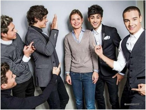 One Direction photoshoots Dusseldorf