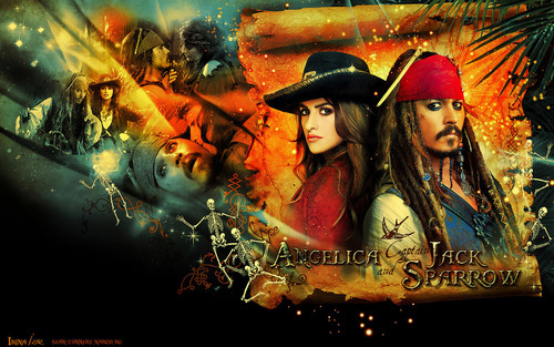 Pirates of the Caribbean wallpaper probably with anime entitled POTC wallpapers