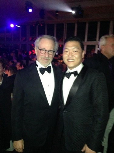 PSY & Steven Spielberg