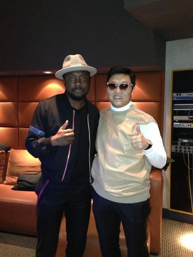 PSY with Celebrities