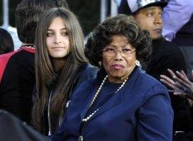 Paris And Paternal Grandmother, Katherine Jackson