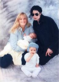 Paris As A Baby Back In 1998 With Her Family