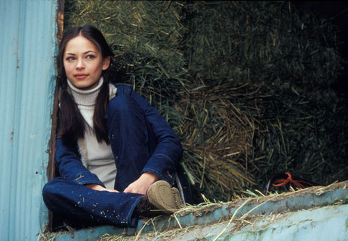 Kristin Kreuk wallpaper possibly with a mulch and a horse trail titled People Photoshoot