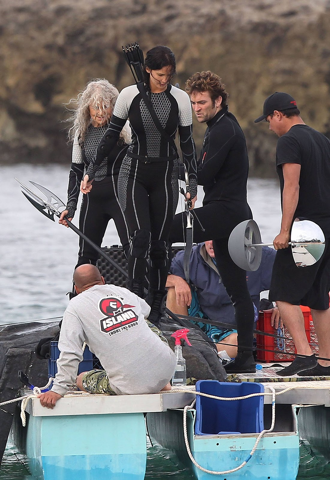 Photos from the Catching Fire set - Catching Fire movie ...