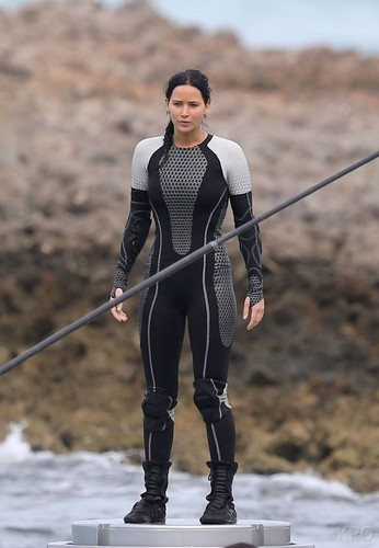 Photos from the Catching Fire set